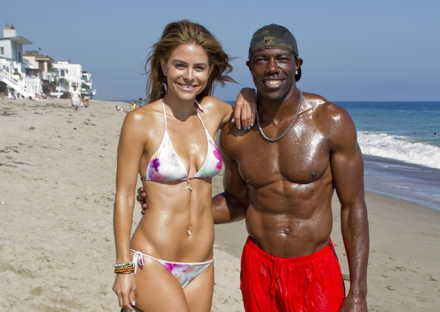 Black guy with wife