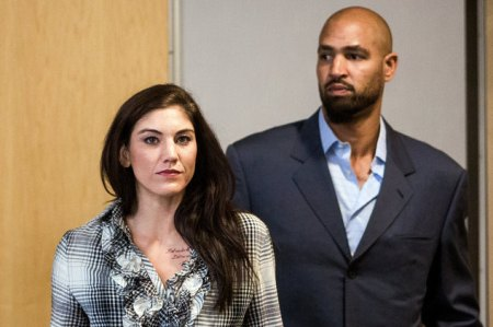 Hope Solo returns for third court date in Kirkland, Washington